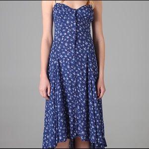 Free People New Romantics Floral Cascade Dress